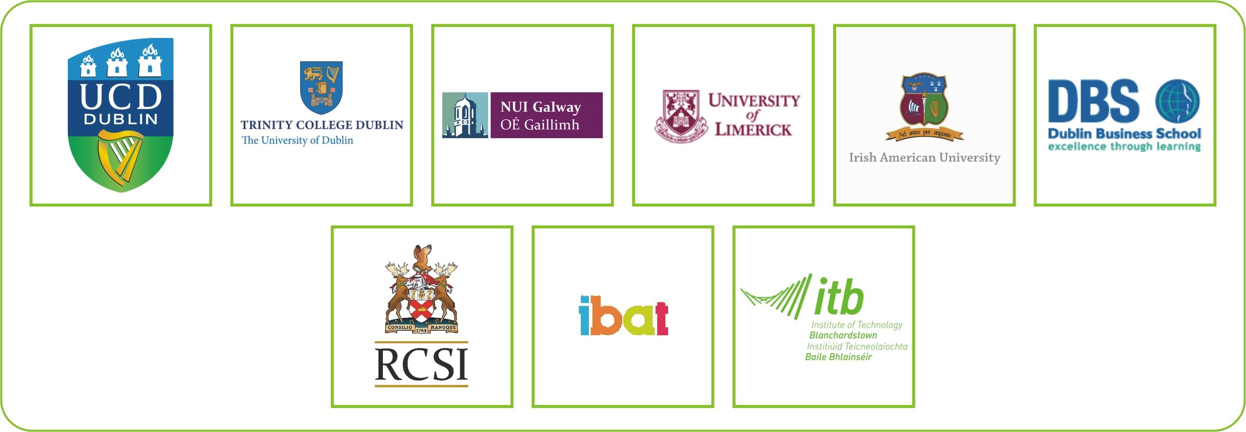 Ireland Logos for Web